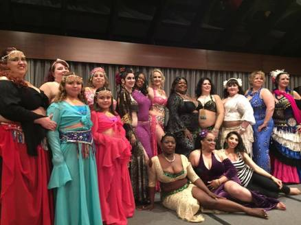 Dangerous Curves Gala Group Photo 2016